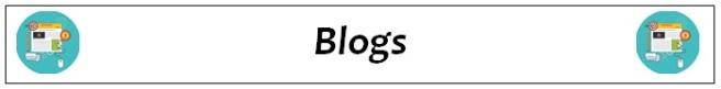 blogs heading