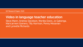 video-in-language-teacher-education