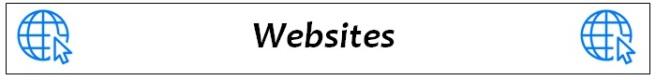 website heading
